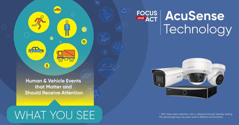 AcuSense - vyskúšajte technológiu, ktorá prináša mnoho výhod.